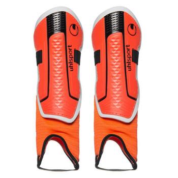 UHLSPORT prolite shin guards [orange/black]
