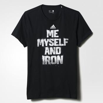 ADIDAS me myself t-shirt [black]