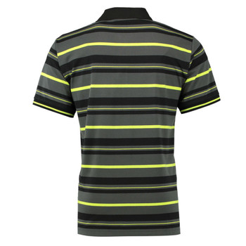 KOOGA leicester tigers rugby training polo shirt [striped]