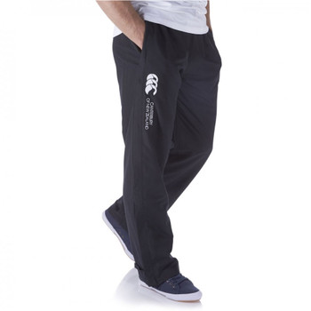 CCC open hem stadium pant [black]