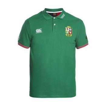 CCC british and irish lions vapodri cotton polo [green]
