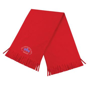EGGCATCHER west hampstead knitting circle RFC fleece scarf