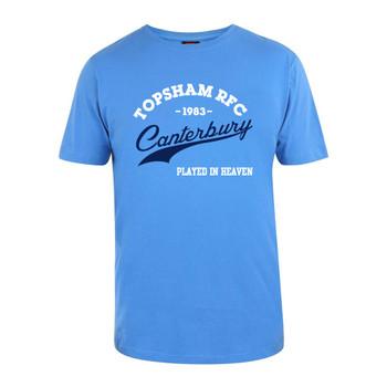 CCC rugby varsity t-shirt TOPSHAM