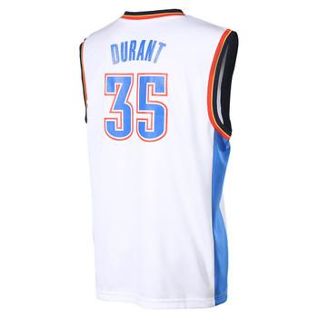 ADIDAS oklahoma city thunder replica basketball jersey [white]