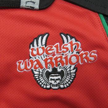 SAMURAI welsh warriors home rugby shirt [red]