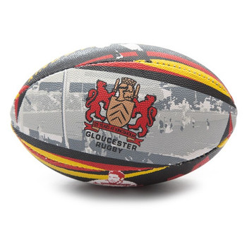 X-BLADES gloucester kingsholm 125 years supporter rugby ball