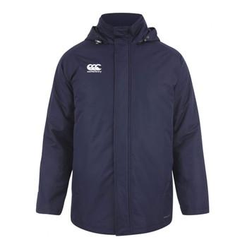 CCC team padded stadium rugby coach jacket [navy]