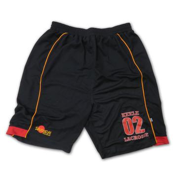 SAMURAI keele lacrosse shorts [black]