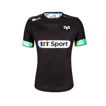 tap shoe CCC ospreys rugby stripes jersey polo