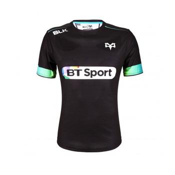 BLK ospreys rugby training t-shirt junior [black]