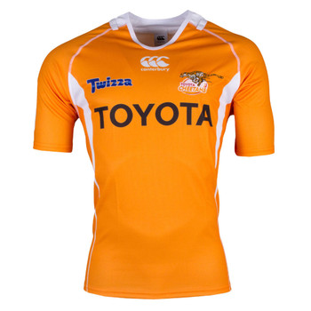 CCC Cheetahs 2017 Super Rugby Home Jersey - Mens [orange]