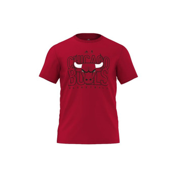 ADIDAS Chicago Bulls fanwear T-Shirt [red]
