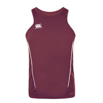 CCC team dry singlet [maroon/white]