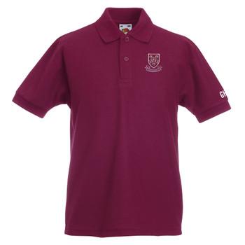 EGGCATCHER polycotton polo shirt junior CHEDDAR CRICKET