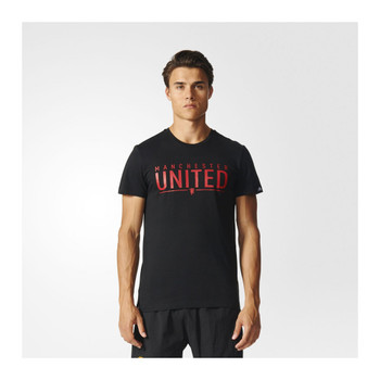 ADIDAS Manchester United FC graphic Tee [black]