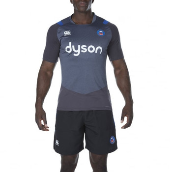 CCC Bath rugby vapodri + poly superlight tee [grey]