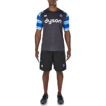 CCC Bath rugby vapodri + poly graphic Tee [grey/blue]