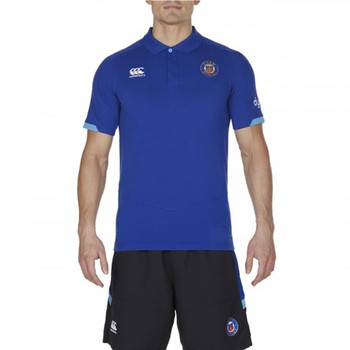 CCC Bath rugby vapodri cotton pique polo [blue]