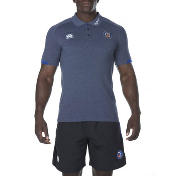 CCC Bath rugby vapodri cotton pique polo [grey]