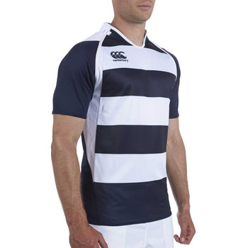 CCC Rugby Hooped Training Jersey [navy/white]