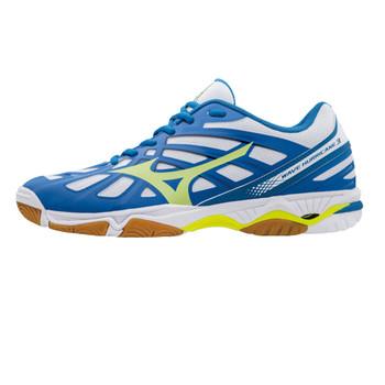 MIZUNO Wave Hurricane 3 indoor volleyball shoe [blue/white]
