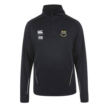 CCC team 1/4 zip mid layer training top HUGH SEXEYS COACH