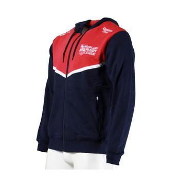 BLK rugby england full zip hoodie [navy]