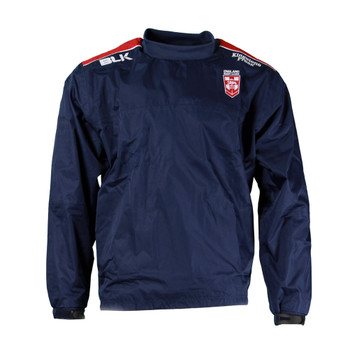 BLK rugby england wet weather pullover [navy]