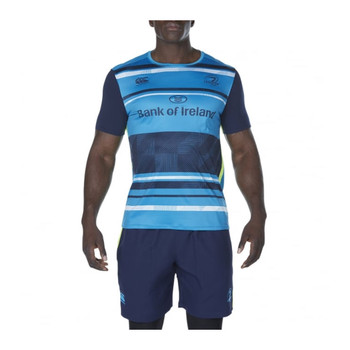 CCC leinster rugby vapodri+ poly graphic tee [liffey blue]