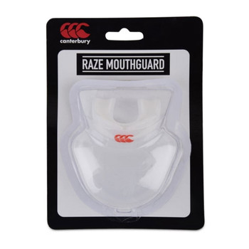 CCC raze mouthguard [clear/white]