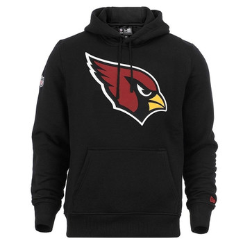 NEW ERA arizona cardinals team logo NFL hoodie [black]