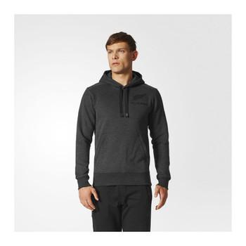 ADIDAS all blacks supporters rugby hoodie [dark grey]