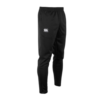 CCC  stretch tapered poly knit rugby pants [black]