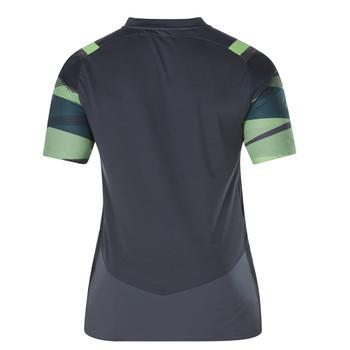 CCC Ireland Vapodri+ poly graphic rugby mens tee [asphalt]