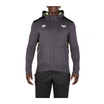 CCC ospreys rugby full zip Hooded vapodri Sweatshirt [iron]