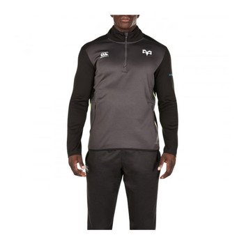 CCC ospreys rugby 1/4 zip thermoreg fleece top [iron]