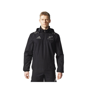 ADIDAS new zealand all blacks territory all weather rugby jacket [black]