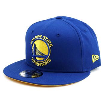 NEW ERA golden state warriors NBA team 9fifty base snapback cap [royal]