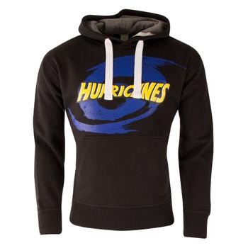 Hurricanes Super Rugby Hooded Sweat [black]