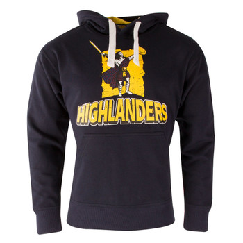 Highlanders Super Rugby Hooded Sweat [navy]