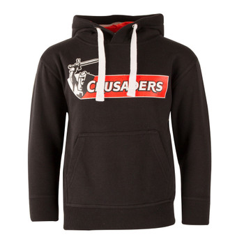 Crusaders Super Rugby Hooded Sweat [black]