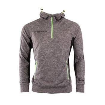 KOOGA Mens extreme showerproof training hoodie [grey marl]