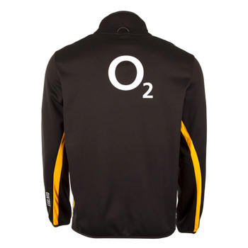 CCC england rugby thermoreg 1/4 zip training top [graphite/gold]