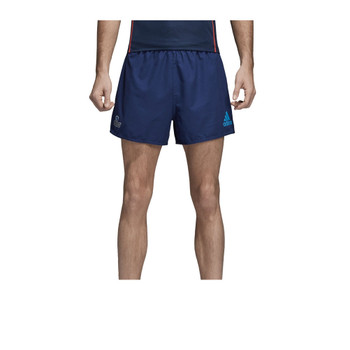 ADIDAS auckland blues home supporter rugby shorts [blue]