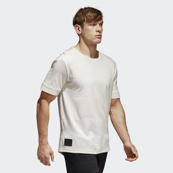 ADIDAS all blacks lux rugby t-shirt [off white]