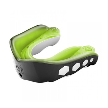 SHOCK DOCTOR gel max rugby mouthguard [green/black]