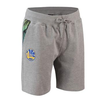 NEW ERA golden state warriors NBA coastal heat shorts [grey]