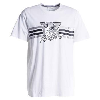 NEW ERA las vegas raiders retro script t-shirt [white]