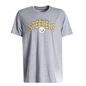 NEW ERA Pittsburgh Steelers NFL timeless arch tee [grey]