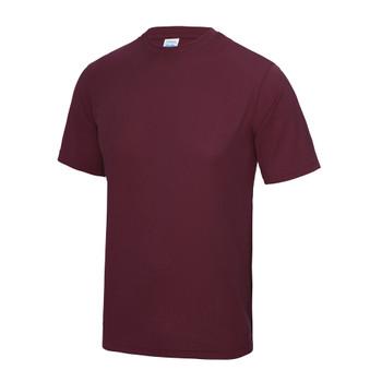 AWDIS performance t-shirt junior [maroon]